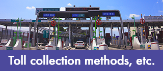 Toll collection methods, etc.