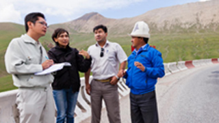 Employees meeting with related parties at the Kyrgyz site