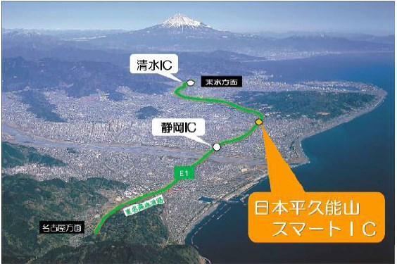 日本平久能山スマートインターチェンジ