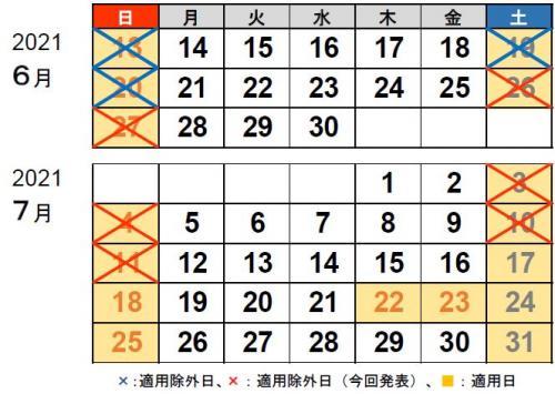 NEXCO中日本:7月11日まで休日割引の適用除外を延長